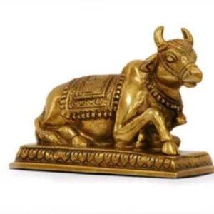 Brass Nandi Bull Vaastu Remedies
